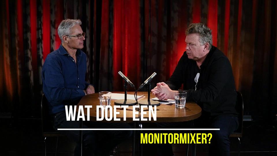Wat doet een monitormixer
